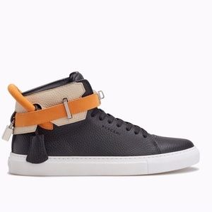 Buscemi Iconic 100MM Leather High-Top Sneaker RARE